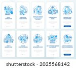 startup launch blue onboarding...