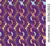 vector seamless pattern... | Shutterstock .eps vector #2025613022