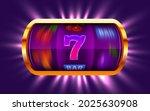 slot machine wins the jackpot.... | Shutterstock .eps vector #2025630908
