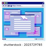 browser window. operating...