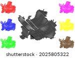dillingen district  federal... | Shutterstock .eps vector #2025805322