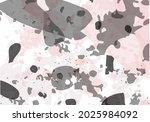 terrazzo modern abstract... | Shutterstock .eps vector #2025984092