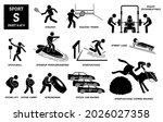 sport games alphabet s vector... | Shutterstock .eps vector #2026027358