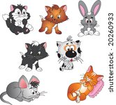 pets vector | Shutterstock .eps vector #20260933