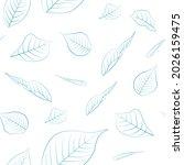 beautiful endless gentle floral ...   Shutterstock .eps vector #2026159475