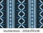 design of native textile with...   Shutterstock .eps vector #2026190138