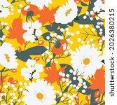 bright  contrasting pattern... | Shutterstock .eps vector #2026380215