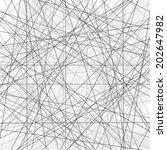 vector seamless pattern. modern ... | Shutterstock .eps vector #202647982