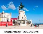 lisbon  portugal   jun 20  2014 ... | Shutterstock . vector #202649395