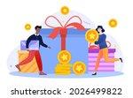 get loyalty card. customer...   Shutterstock .eps vector #2026499822