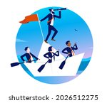 business leadership   people...   Shutterstock .eps vector #2026512275