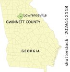 gwinnett county and city of... | Shutterstock .eps vector #2026552118