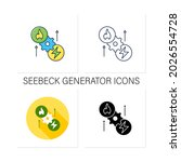 thermoelectric generator icons...   Shutterstock .eps vector #2026554728