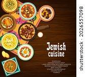 jewish cuisine vector shakshuka ...   Shutterstock .eps vector #2026557098