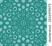 islamic vector ornament ...   Shutterstock .eps vector #2026559075