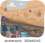 illustration featuring a...   Shutterstock .eps vector #202665142
