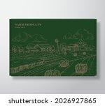 premium quality box mock up....   Shutterstock .eps vector #2026927865