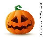 jack o lantern. halloween... | Shutterstock .eps vector #2026945658