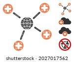 mesh global medical links web...   Shutterstock .eps vector #2027017562