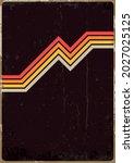 1970s style poster  cover... | Shutterstock .eps vector #2027025125