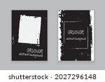 vectorset template grungea... | Shutterstock .eps vector #2027296148