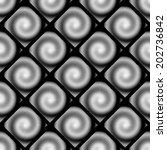 design seamless spiral movement ... | Shutterstock .eps vector #202736842
