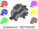 hersfeld rotenburg district ... | Shutterstock .eps vector #2027538182