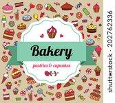 bakery. vector illustration.  | Shutterstock .eps vector #202762336
