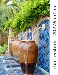 Water Feature With Large...