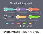 process infographic design...   Shutterstock .eps vector #2027717702