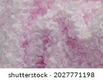 Faux Fur In Pale Pink Color....