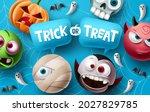 Trick Or Treat Halloween Vector ...