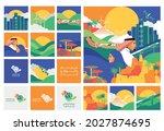 national saudi day 91... | Shutterstock .eps vector #2027874695