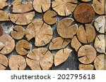 Detailed View Of A Nice Wood...