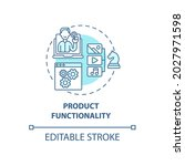 product functionality concept...