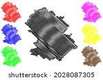 hochtaunuskreis district ... | Shutterstock .eps vector #2028087305
