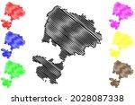karlsruhe district  federal... | Shutterstock .eps vector #2028087338