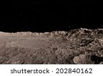 moon surface | Shutterstock . vector #202840162