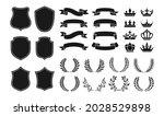heraldry vintage badge icon set.... | Shutterstock .eps vector #2028529898