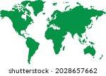 world map atlas globe vector | Shutterstock .eps vector #2028657662