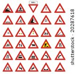 signs and icons | Shutterstock .eps vector #20287618