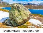 Huge Boulder Big Rock By The...