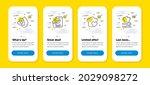 vector set of food app  recycle ...