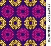 seamless african fashion vector ... | Shutterstock .eps vector #2029110698