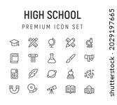 premium pack of high school...