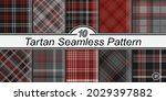 classic tartan pattern set....   Shutterstock .eps vector #2029397882