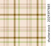 classic tartan colored cage....   Shutterstock .eps vector #2029397885