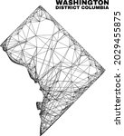 carcass irregular mesh...   Shutterstock .eps vector #2029455875