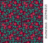 seamless pattern with... | Shutterstock .eps vector #202946515