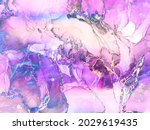 pink and blue watercolor... | Shutterstock . vector #2029619435